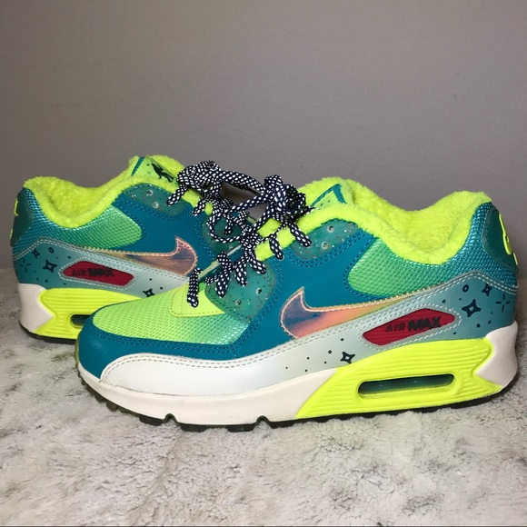 2015 Womens Nike Air Max 90 Hyperfuse QS Teal